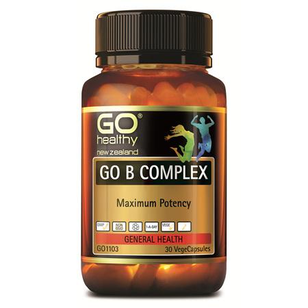 GO B Complex 30vcaps