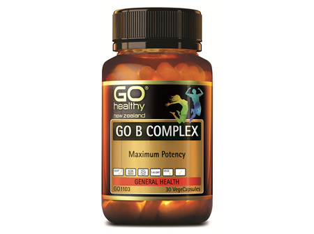 GO B COMPLEX - Maximum Potency (30 Vcaps)