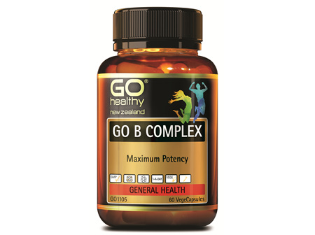 GO B COMPLEX - Maximum Potency (60 Vcaps)