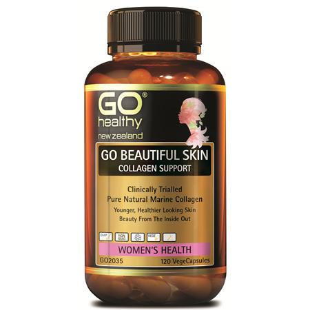 GO Beautiful Skin Collagen Support 120vcp