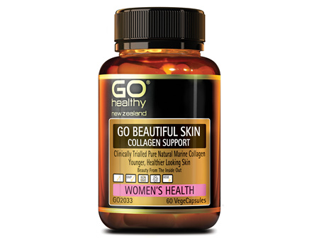 GO BEAUTIFUL SKIN - Collagen Support (60 Vcaps)