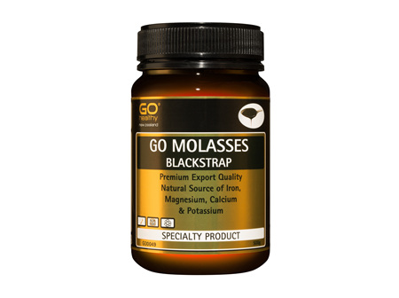 GO BLACKSTRAP MOLASSES - The Natural Golden Syrup or Honey Alternative (500g)