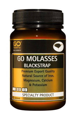 GO BLACKSTRAP MOLASSES - The Natural Golden Syrup or Honey Alternative (500g)
