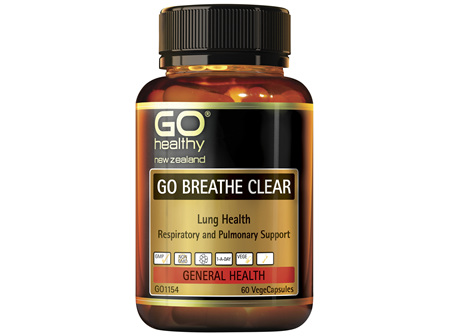 GO Breathe Clear 60 VCaps
