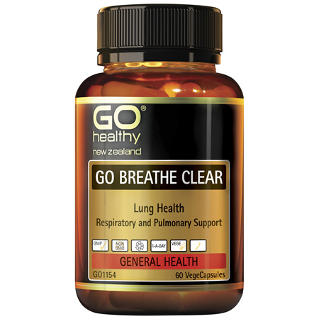GO Breathe Clear 60vcaps