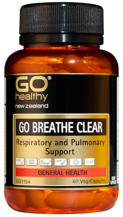 GO BREATHE CLEAR - Respiratory and Pulmonary Support (60 Vcaps)
