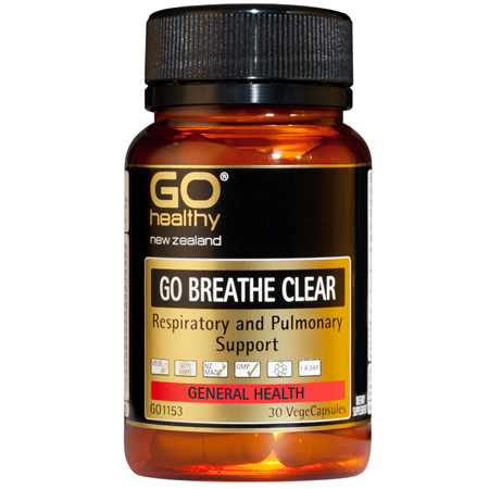 GO BREATHE CLEAR - Respiratory and Pulmonary Support (30 Vcaps)