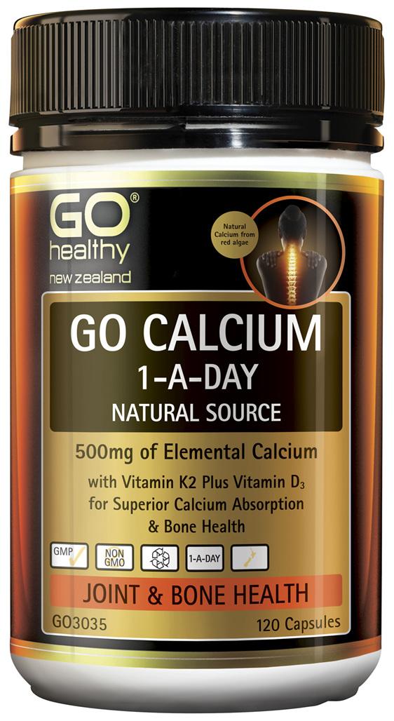 GO Calcium 1-A-Day 120 Caps