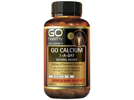 GO Calcium 1-A-Day 60 Caps