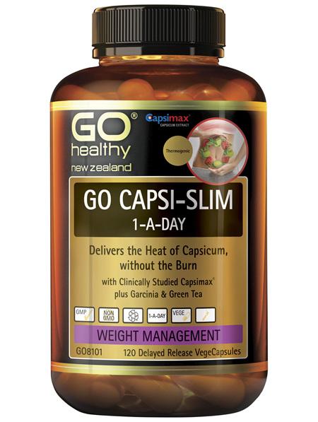 GO Capsi-Slim 1-A-Day 120 VCaps
