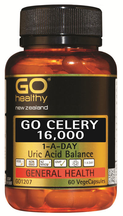 GO CELERY 16,000 - 1-A-Day Uric Acid Balance (60 Vcaps)