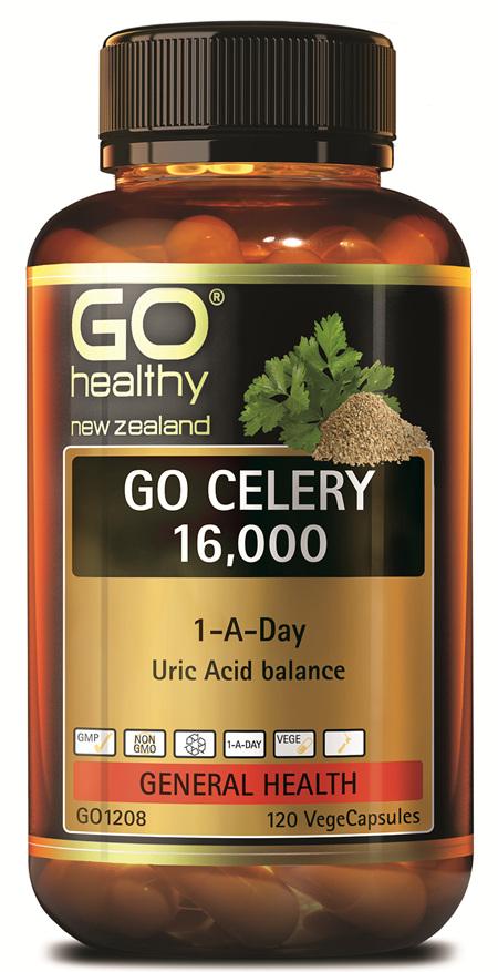 GO CELERY 16,000 - 1-A-DAY URIC ACID BALANCE (120 VCAPS)