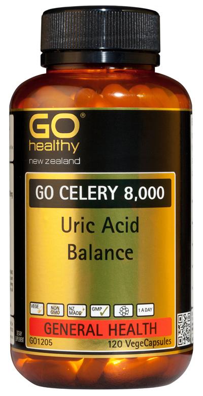 GO CELERY 8,000 - Uric Acid Balance (120 Vcaps)