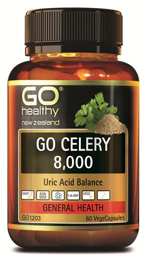 GO CELERY 8,000 - Uric Acid Balance (60 Vcaps)