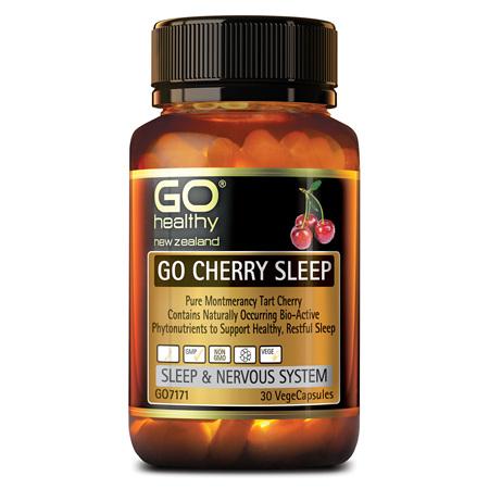 GO Cherry Sleep 30vcaps