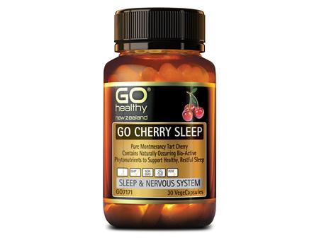 GO CHERRY SLEEP - PURE MONTMERANCY TART CHERRY  (30 VCAPS)