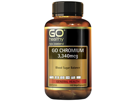 GO Chromium 3,340mcg 120 VCaps