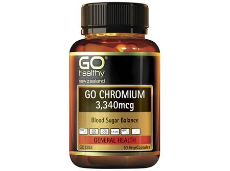 GO Chromium 3,340mcg 60 VCaps