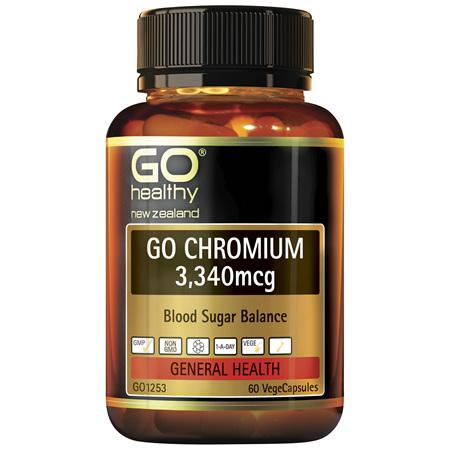 GO Chromium 3340mcg 60vcaps