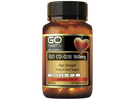 GO Co-Q10 160mg 30 VCaps
