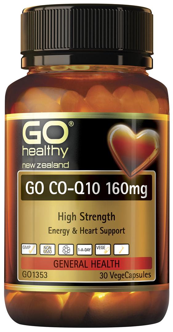 GO Co-Q10 160mg 30 VCaps