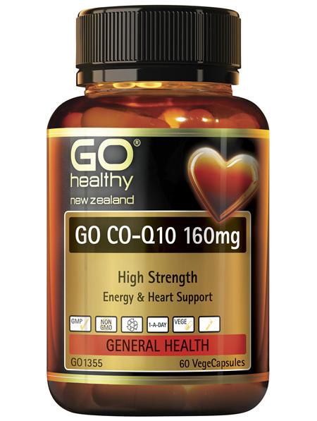GO Co-Q10 160mg 60 VCaps