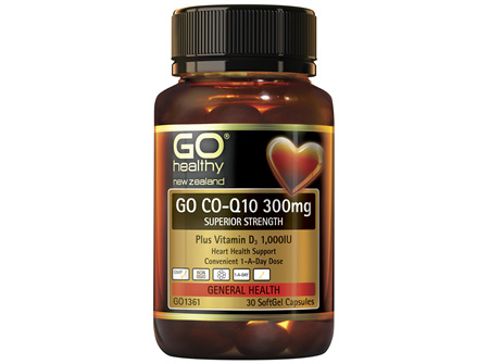 GO Co-Q10 300mg 30 Caps
