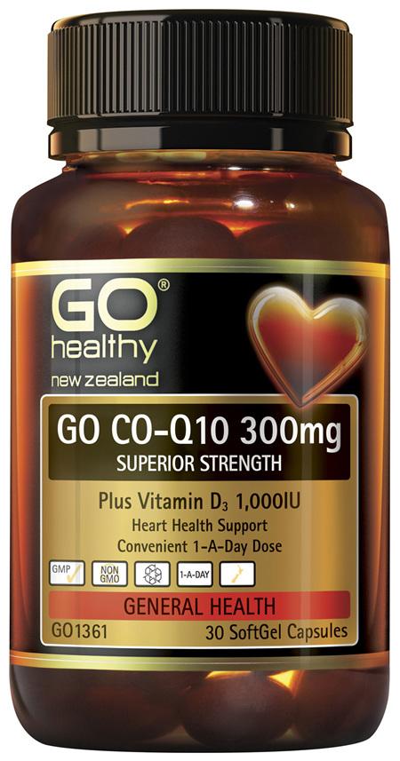 GO Co-Q10 300mg 30 Caps