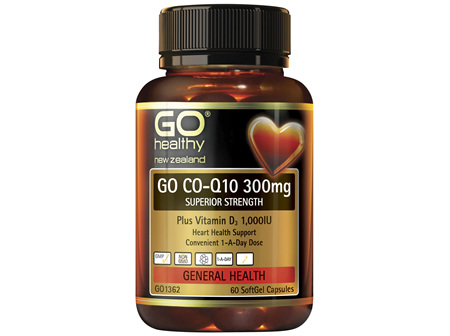 GO Co-Q10 300mg 60 Caps