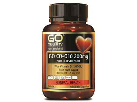 GO CO-Q10 300MG - SUPERIOR STRENGTH (60 CAPS)