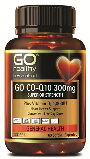 GO CO-Q10 300mg - Superior Strength (60 Caps)