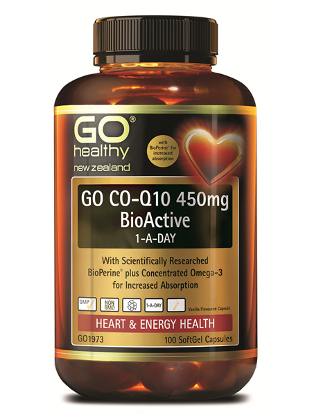 GO CO-Q10 450MG BIOACTIVE 1-A-DAY (100 CAPS)