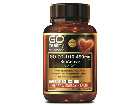 GO CO-Q10 450MG BIOACTIVE 1-A-DAY (30 CAPS)