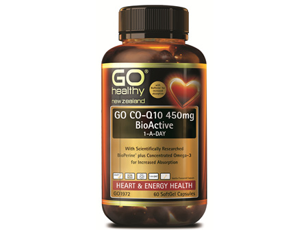 GO CO-Q10 450MG BIOACTIVE 1-A-DAY (60 CAPS)