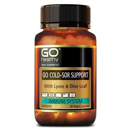 GO Cold Sor Support 30vcaps