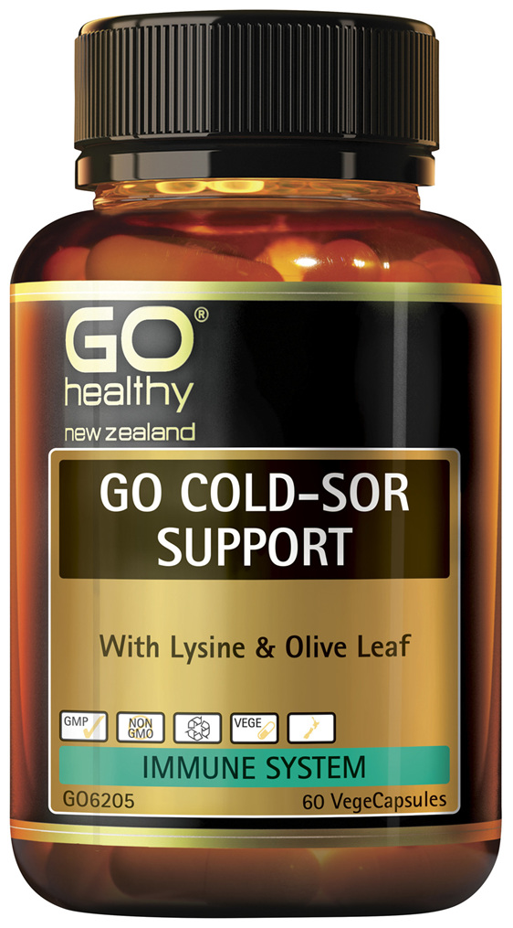 GO Cold-Sor Support 60 VCaps