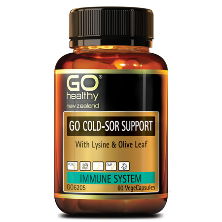 GO Cold Sor Support 60vcaps