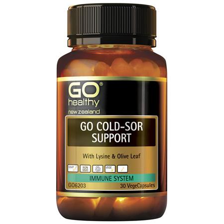 GO Cold Sore Support 30vcaps