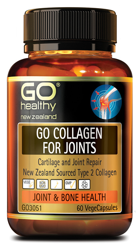GO COLLAGEN FOR JOINTS - CARTILAGE REPAIR NZ COLLAGEN (60 VCAPS)
