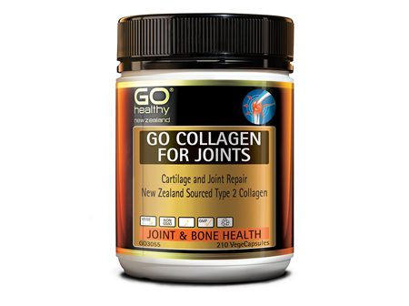GO COLLAGEN FOR JOINTS - Cartilage Repair NZ Collagen (210 Vcaps)
