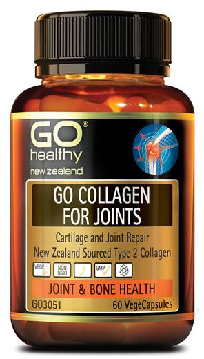GO COLLAGEN FOR JOINTS - Cartilage Repair NZ Collagen (60 Vcaps)