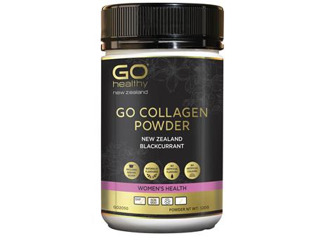 GO Collagen Powder New Zealand Blackcurrant 120g
