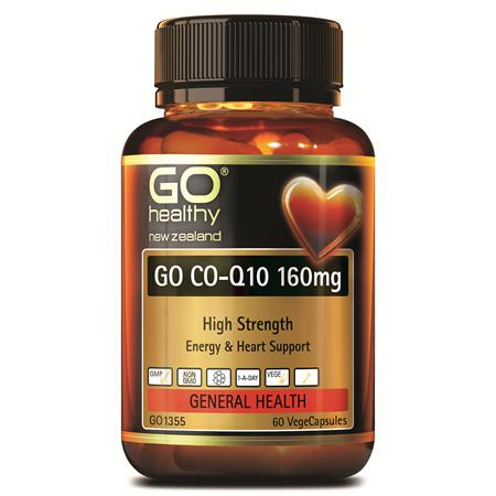 GO CoQ10 160mg 60vcaps