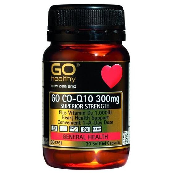 Go CoQ10 300MG - 30 capsules