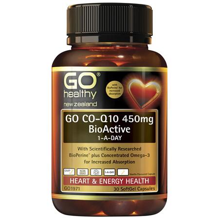 GO CoQ10 450mg BioActive 1-A-Day 30s