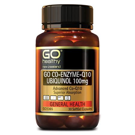 GO CoQ10 Ubiquinol 100mg 30caps
