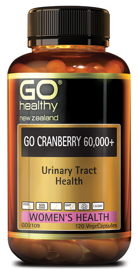 GO CRANBERRY 60,000+ - Urinary Tract Health (120 Vcaps)