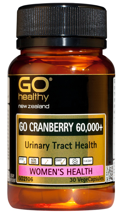 GO CRANBERRY 60,000+ - Urinary Tract Health (30 Vcaps)