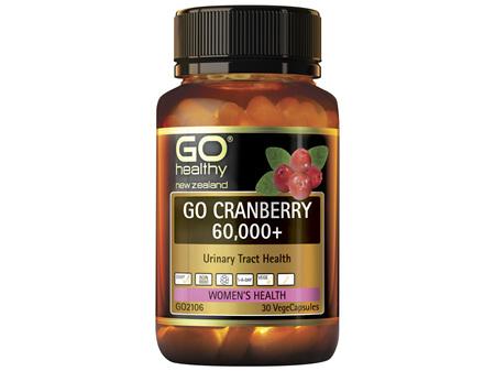 GO Cranberry 60,000+ 30 VCaps