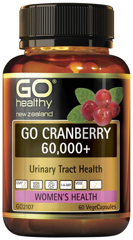 GO Cranberry 60,000+ 60 VCaps